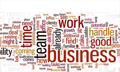 business words,